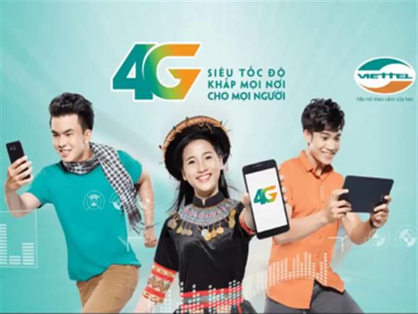 Instructions on how to register 4G Viettel SIM use 1 month, year 2020